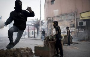 Bahraini: Police, Protesters Clash on Fourth Anniversary of Uprising (Al-Akhbar (Lebanon))